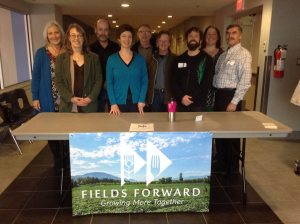 East Shore Team at Fields Forward Conference