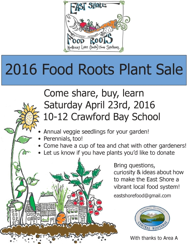 Plant Sale 2016 Food Roots Poster - edited