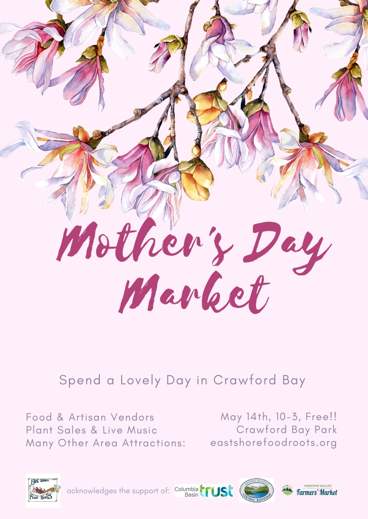 Mother's Day Market Poster Image